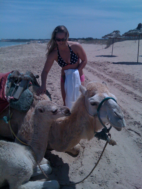 Ronda and the camels