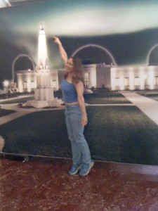 Me being immature at the observatory