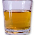 Glass of whisky. Public Domain