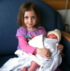 Eva and sister