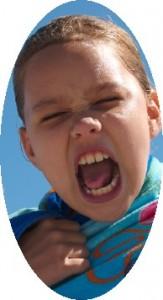 Yelling child