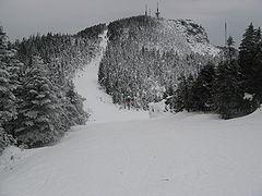 Stowe, Vt ski slope