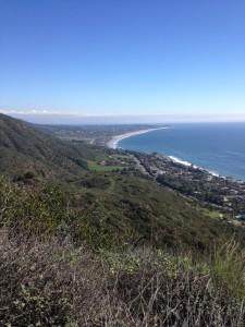 view from Malibu
