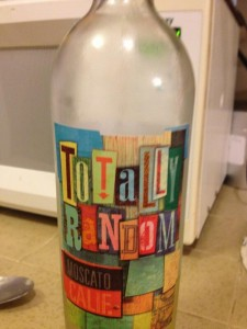 wine label - totally random