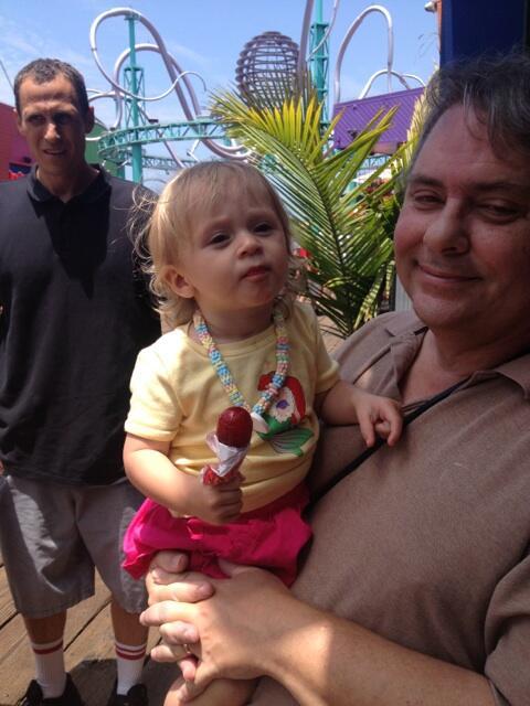 Emilia and grandpa