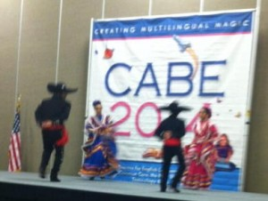 folklorico dancers at CABE