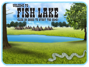 Fish lake splash screen