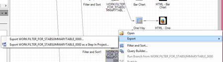export file option