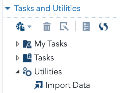 Tasks and utilities