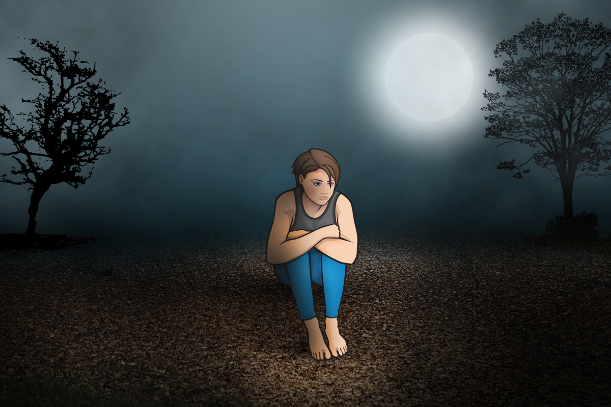 Help Jessie, shown here in the woods, make new decisions